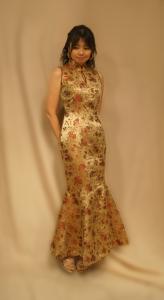 マーメイドライン チャイナドレス